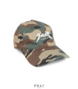 Distressed Camo Tour Cap | Fray London
